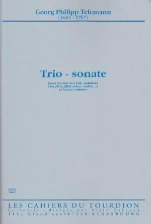 Trio - Sonate -Dessus de viole, hautbois et Bc - laflutedepan.com