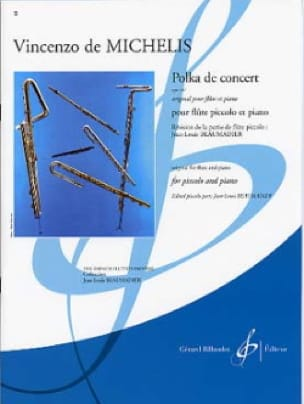 Polka de Concert op. 67 - Michelis Vincenzo De - laflutedepan.com