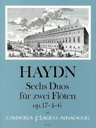 6 Duos Op. 17 Volume 2 - 2 Flûtes - HAYDN - laflutedepan.com