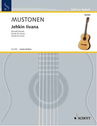 Jehkin Livana - Olli Mustonen - Partition - Guitare - laflutedepan.com