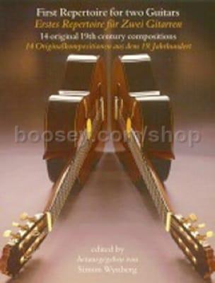 First repertoire for 2 Guitars - Simon Wynberg - laflutedepan.com