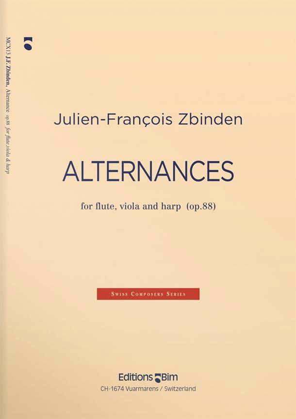 Alternances op. 88 - Julien François Zbinden - laflutedepan.com