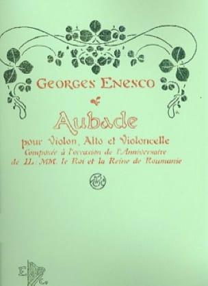 Aubade - ENESCO - Partition - Trios - laflutedepan.com