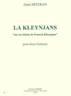 La Kleynjans - Alain Miteran - Partition - Guitare - laflutedepan.com