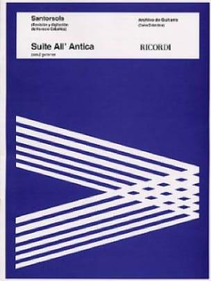 Suite all' Antica - Guido Santorsola - Partition - laflutedepan.com