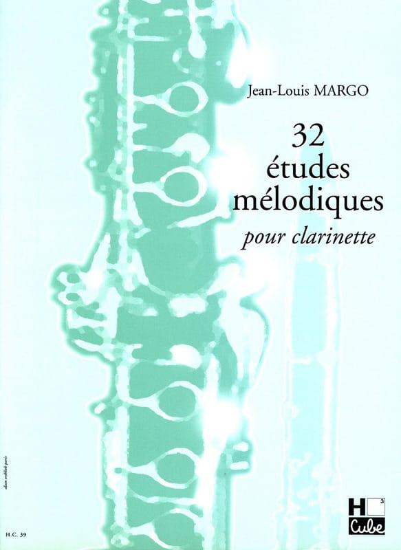 32 Etudes Mélodiques - Jean-Louis Margo - Partition - laflutedepan.com