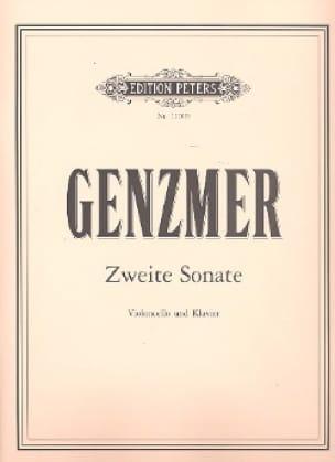 Zweite Sonate - Harald Genzmer - Partition - laflutedepan.com
