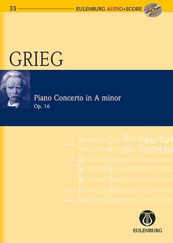 Edvard Grieg - Piano Concerto In The Minor Op.16 - Partition - di-arezzo.com