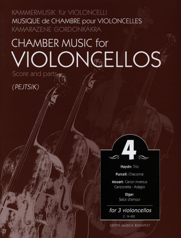 Chamber music for violoncellos - Volume 4 - Score + Parts - laflutedepan.com