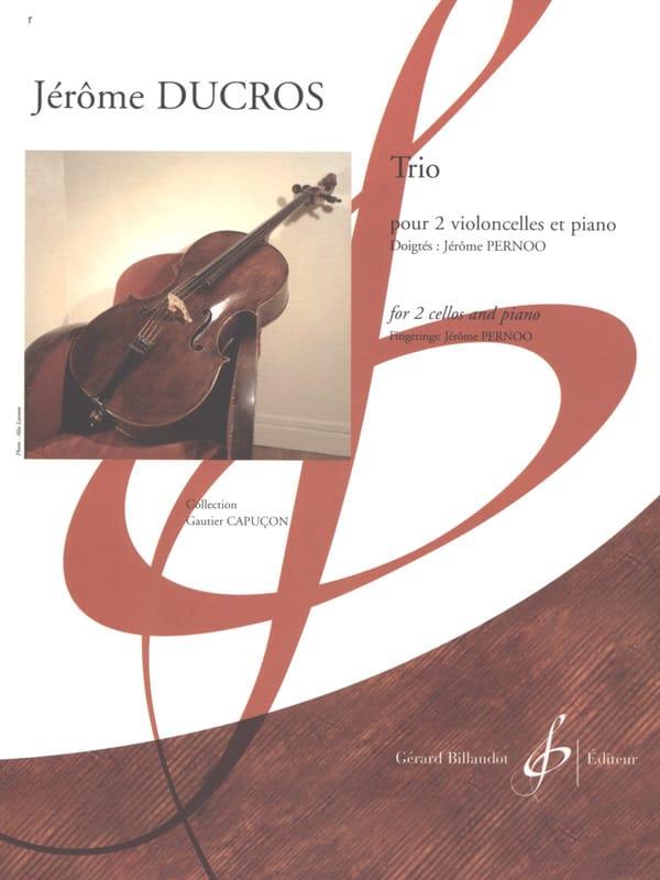 Trio - 2 Violoncelles et piano - Jérôme Ducros - laflutedepan.com