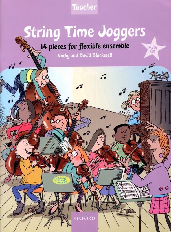 String Time Joggers - Teacher book piano acc. - laflutedepan.com