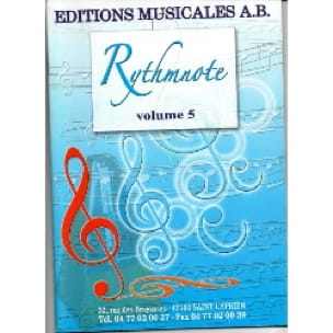 Rythmnote Volume 5 - Partition - Solfèges - laflutedepan.com