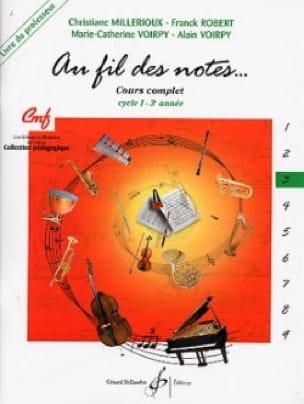 Millerioux Chr. / Robert Fr. / Voirpy M.-C. et A. - En las Notas - Volumen 3 - Profesor - Partition - di-arezzo.es