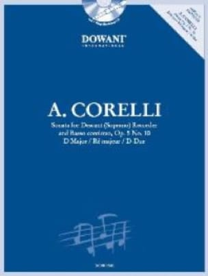 CORELLI - Sonata op. 5 n ° 10 in d maj. - Descender recorder Bc - Partition - di-arezzo.co.uk