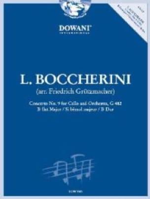 Concerto N°9 En Sib Maj. - G.482 - BOCCHERINI - laflutedepan.com