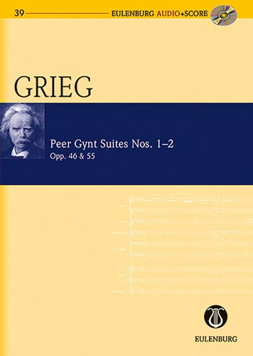 Edvard Grieg - Peer Gynt - Suites No. 1-2 Op. 46 and 55 - Partition - di-arezzo.com