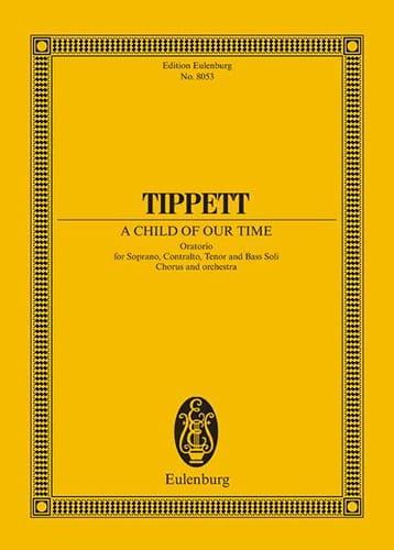Michael Tippett - Un niño de nuestro tiempo - Partition - di-arezzo.es