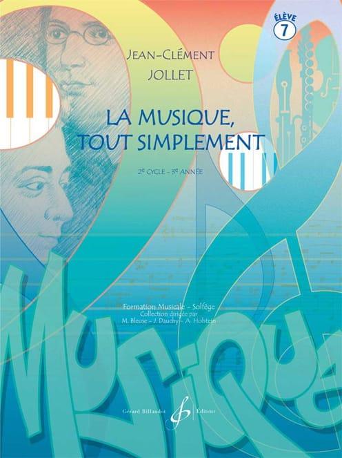 Jean-Clément Jollet - Music Simply - Volumen 7 - Partition - di-arezzo.es