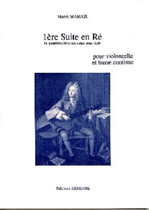 1ère Suite En Ré - Marin Marais - Partition - laflutedepan.com