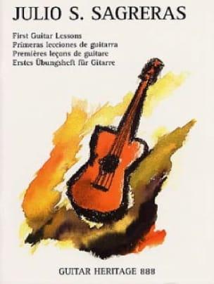 Julio S. Sagreras - Las Primeras Lecciones De Guitarra - Partition - di-arezzo.fr