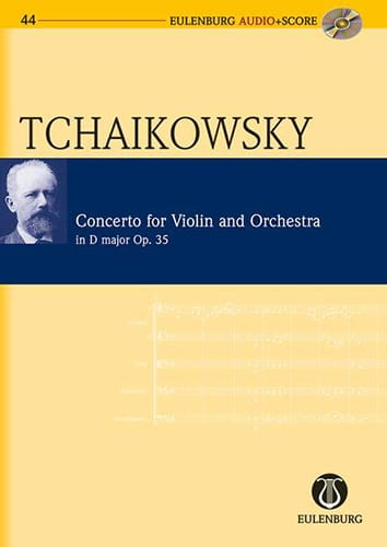 TCHAIKOVSKY - Violin Concerto Op. 35 in D Major - Partition - di-arezzo.co.uk