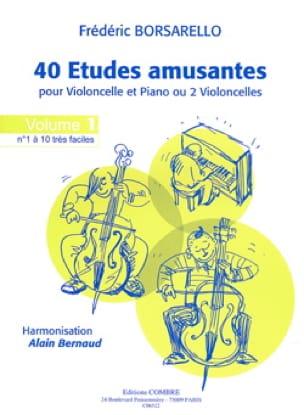 40 Etudes Amusantes Volume 1 - Frédéric Borsarello - laflutedepan.com