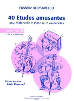 40 Etudes Amusantes Vol.3 - Frédéric Borsarello - laflutedepan.com