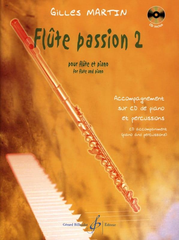 Flûte Passion 2 - Gilles Martin - Partition - laflutedepan.com