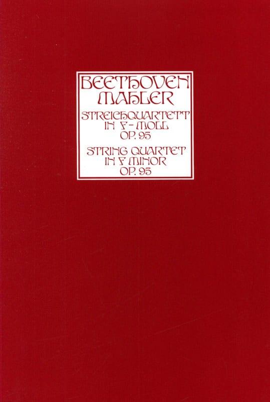 11ème Quatuor A Cordes Op. 95 - laflutedepan.com