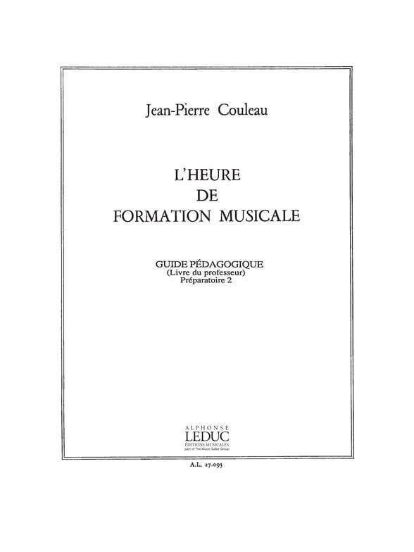 Jean-Pierre Couleau - FM Time - Prep. 2 - Prof - Partition - di-arezzo.co.uk