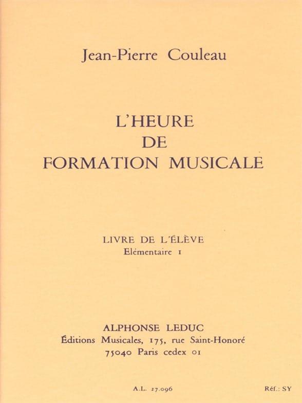 Jean-Pierre Couleau - The time of FM - Elém. 1 - Student - Partition - di-arezzo.co.uk