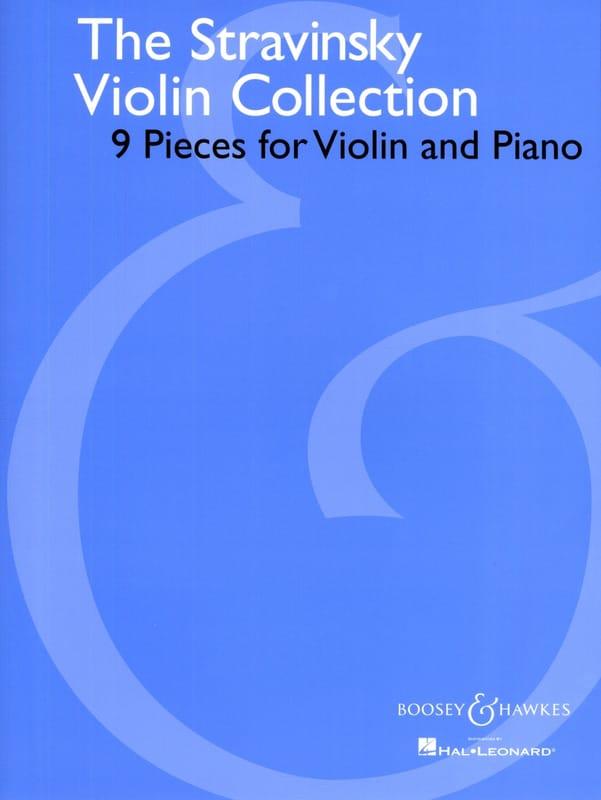 The Stravinsky Violin Collection - STRAVINSKY - laflutedepan.com