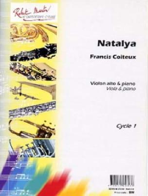 Francis Coiteux - Natalya - Partition - di-arezzo.fr