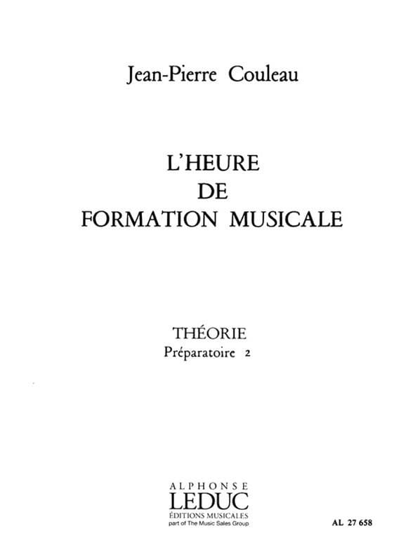 Jean-Pierre Couleau - FM Time - Theory - Prep. 2 - Partition - di-arezzo.co.uk