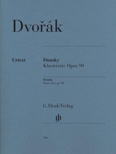 DVORAK - Dumky Trio with piano op. 90 - Partition - di-arezzo.co.uk