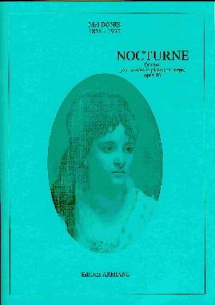 Nocturne - Quatuor Op.16 - Mel Bonis - Partition - laflutedepan.com