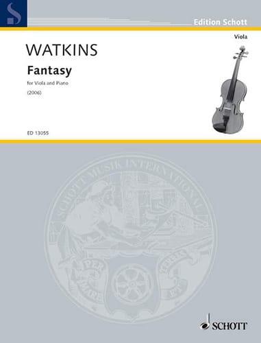 Fantasy - Huw Watkins - Partition - Alto - laflutedepan.com