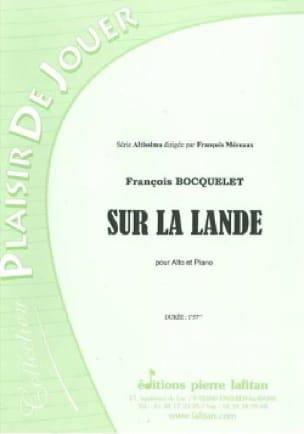 Sur la lande - François Bocquelet - Partition - laflutedepan.com