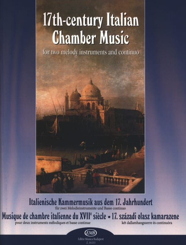 - 17th Century Italian Chamber Music - Partition - di-arezzo.co.uk