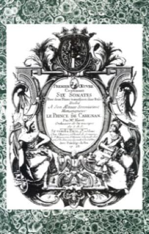Michel Blavet - 6 Sonates pour 2 flûtes traversières sans basse - Partition - di-arezzo.fr