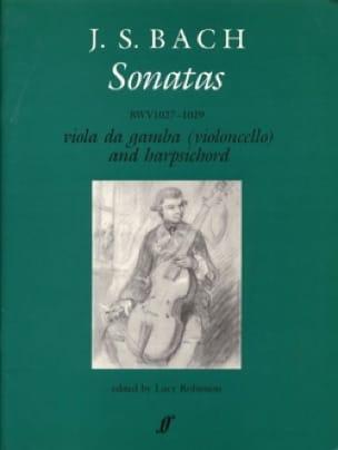 BACH - Gamba Sonatas - Partition - di-arezzo.com