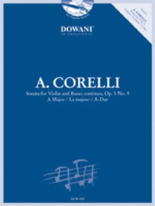 CORELLI - Sonata in the Maj. Op. 5 N ° 9 - Partition - di-arezzo.co.uk