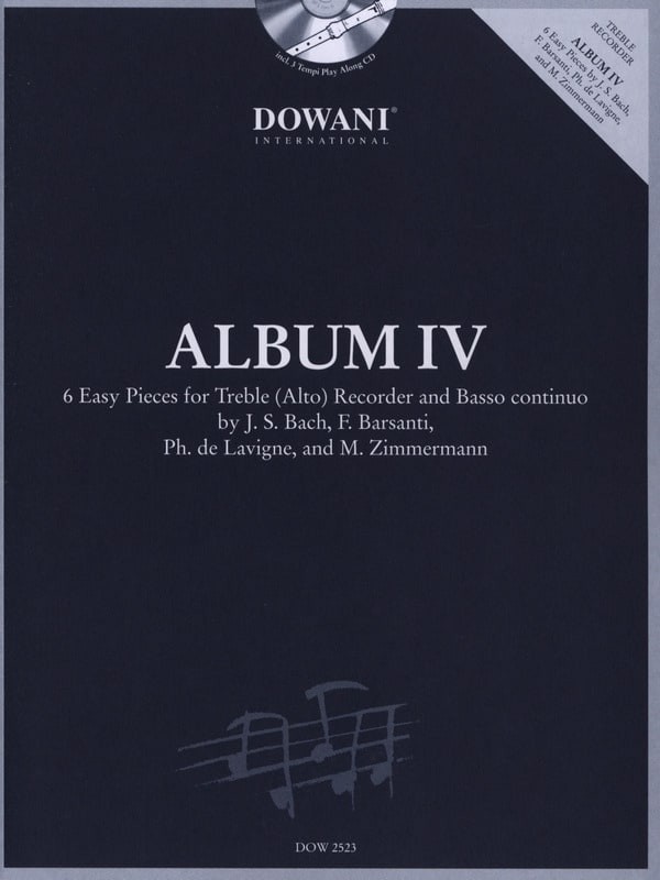 Album 4 -Treble recorder Bc - Partition - laflutedepan.com