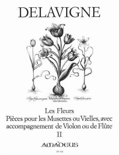 Les Fleurs, op. 4 Volume 2 - Philibert Delavigne - laflutedepan.com
