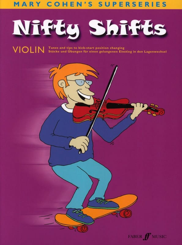 Nifty Shifts -violon - Mary Cohen - Partition - laflutedepan.com
