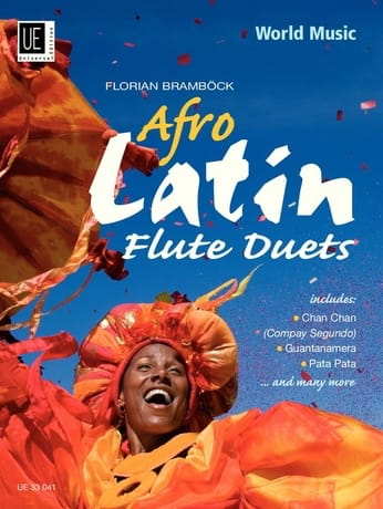 Afro Latin Flute Duets - Florian Bramböck - laflutedepan.com