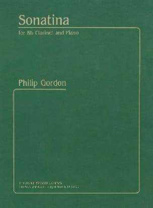 Sonatina - Philip Gordon - Partition - Clarinette - laflutedepan.com