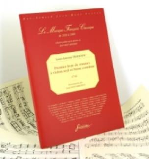 Premier Livre De Sonates - Louis Antoine Travenol - laflutedepan.com
