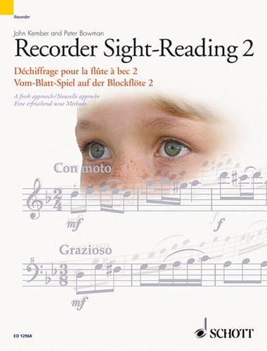 Recorder Sight Reading Blockflöte Vol.2 - laflutedepan.com