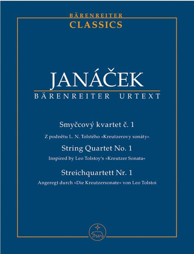 Leos Janacek - String Quartet N ° 1 - Partition - di-arezzo.co.uk